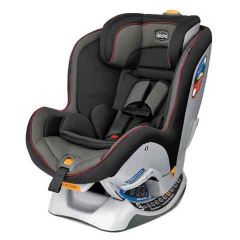 Chicco NextFit Convertible Car Seat Black