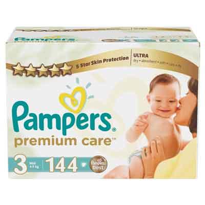 Pampers Premium Care Midi Size 3 Mega Box Babies21