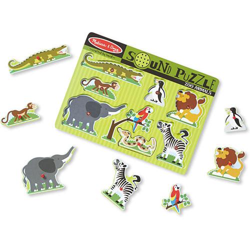 Melissa Amp Doug Zoo Animals Sound Puzzle Babies21 Nigeria