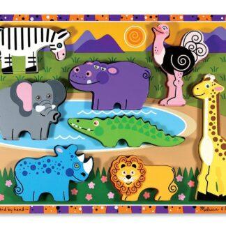 000772037228-Melissa & Doug Safari Chunky Kids Puzzle