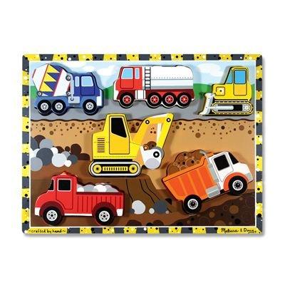 000772037266-Melissa & Doug Construction Wooden Chunky Puzzle