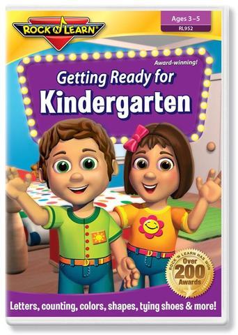 725696895227 CH-DVD-ROCK N LEARN-GETTING READY FOR KINDERGARTEN