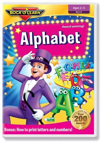 725696821523 CH-DVD-ROCK N LEARN-LEARN THE ALPHABET