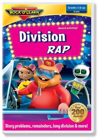 725696898020 CH-DVD-ROCK N LEARN-DIVISION RAP
