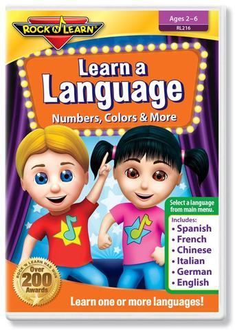 725696821622 CH-DVD-ROCK N LEARN-LEARN A LANGUAGE