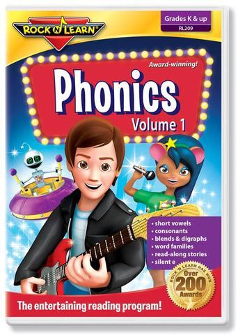 725696820922 CH-DVD-ROCK N LEARN PHONICS 1
