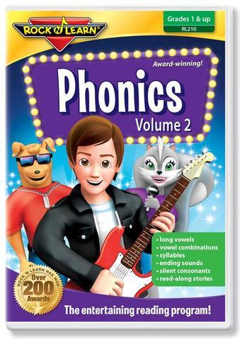 725696821028 CH-DVD-ROCK N LEARN PHONICS VOLUME 2