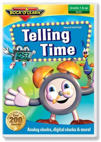725696894725 CH-DVD-ROCK N LEARN-TELLING TIME