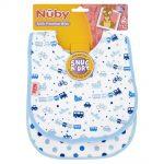 nuby milk feeding bibs snug and dry