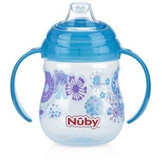 nuby grip N' sip 1st sipeez click it