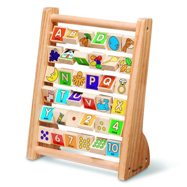 Melissa And Doug Educational Toys : Melissa doug abc abacus classic wooden educational