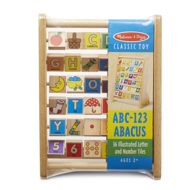 Classic Educational Toys : Melissa doug abc abacus classic wooden educational