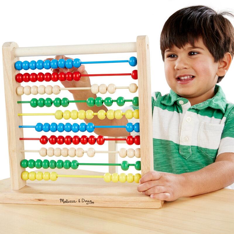 Melissa & Doug Classic Wooden Abacus Toy - Babies21 | Nigeria
