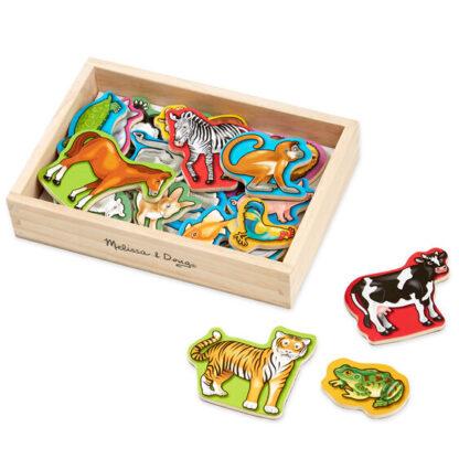 Melissa & Doug Magnetic Wooden Animals Toy