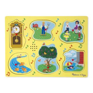 Melissa & Doug Nursery Rhymes Song Puzzle
