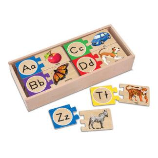 Melissa & Doug Self-Correcting Alphabet Puzzles