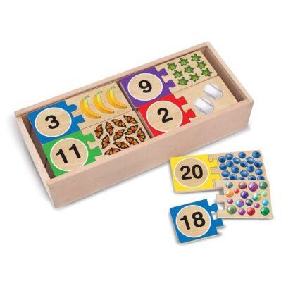 Melissa & Doug Self-Correcting Number Puzzles