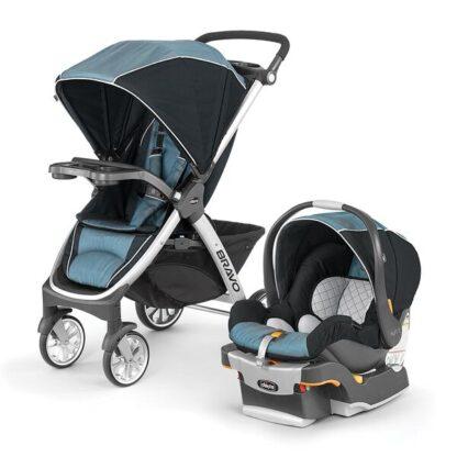 Chicco Bravo Trio Travel System - Stroller & Car Seat
