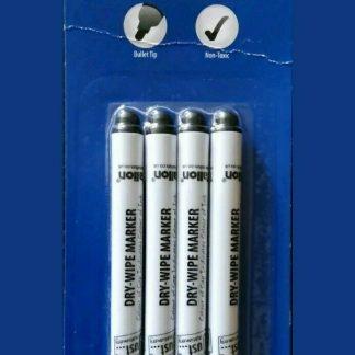 4 Dry Wipe Board Markers