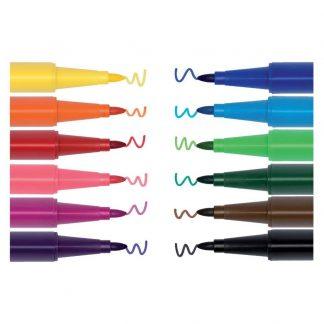 Coloured Tip Pens Set