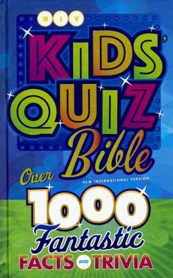 NIV Kids' Quiz Bible, Hardcover
