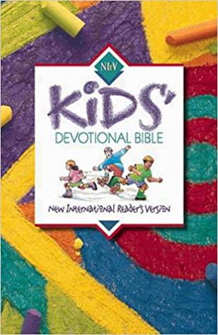 NIrV Kids' Devotional Bible, Hardcover
