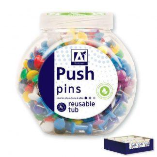 Tub of 175 Push Pins